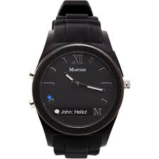 amazon com martian watches notifier smartwatch black cell