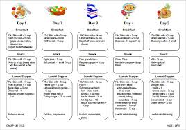 lunch menu template free daycare menu templates 11 free printable pdf documents
