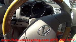 parting out 2009 lexus rx 350 stock 6195rd tls auto recycling