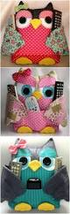 Diy Room Decor Easy Owl Pillow Sew No Sew 2987 Best Crochet Sewing Knitting Images On Pinterest Crochet