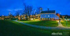 Heritage Park Christmas Lights Another Sunset View Of Uptown Westerville Hdr My Final Photo