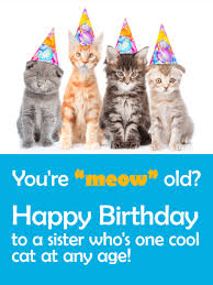 you are cool at any age funny birthday card for sister birthday