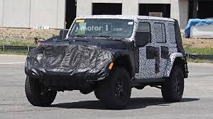 jeep truck 2018 spy photos 2018 jeep wrangler everything we know