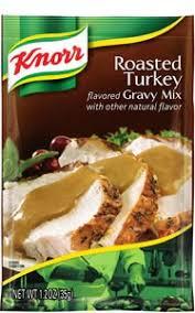 turkey gravy mix knorr gravy mix roasted turkey 1 2 oz pack of 24