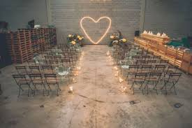 23 industrial wedding ceremony decor ideas weddingomania