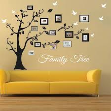 picture frame family tree wall tree wall tree decals
