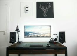 Minimal Computer Desk Minimal Home Office Pinterest Gaming Desk Minimal And Desks