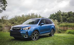 subaru forester 2017 blue 2016 subaru forester 2 0xt touring exterior badge rear 9065