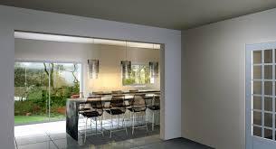 cuisine montauban aménagement d une cuisine ouverte avec une table sur mesure à