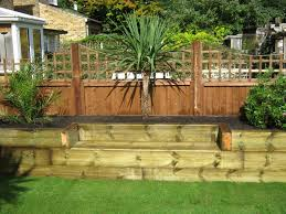 Railway Sleepers Garden Ideas Garden Design Ideas Using Railway Sleepers The Garden Inspirations