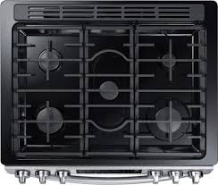 Slide In Gas Cooktop Samsung Nx58m9420ss 30 Inch Slide In Gas Range With Sealed Burner