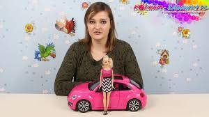 volkswagen barbie barbie volkswagen beetle and doll set youtube
