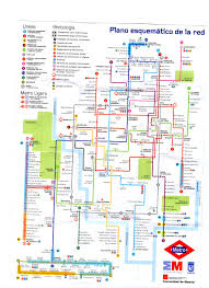 Budapest Metro Map by Madrid Metro Map Madrid Guide