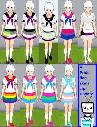 Pride Flag Colors All Pride Flag Skins Zip Update By Televicat On Deviantart