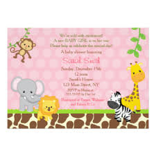 baby shower invites for girl baby shower invitations announcements zazzle nz