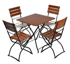 European Bistro Set Square Table 70cm 27 6 Ins X 70cm 27 6