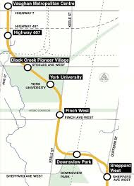 Toronto Subway Map Update On The Spadina Subway Extension Urban Toronto