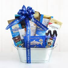 sympathy gift basket shimmering silver kosher sympathy gift chocolate gift baskets