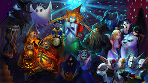 halloween background 1280x720 dota halloween by rakavka on deviantart