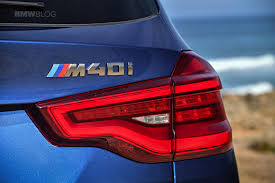 video quick soundbite shows the growl of the bmw x3 m40i