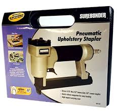 Best Pneumatic Staple Gun For Upholstery Surebonder 9615a 300 3a 22g Pneumatic Upholstery Staple Gun Kit