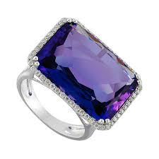 amazon black friday 2016 sales black friday sale 17 00 carat amethyst emerald cut u0026 diamond halo