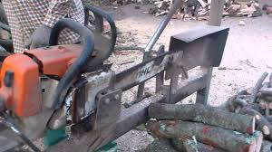 Firewood Saw Bench Can Cervera Montseny Firewood Processing On Chainsaw Bench