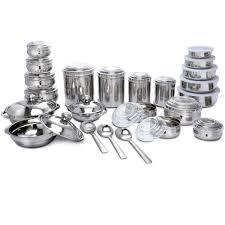 new 43 pcs stainless steel storage u0026 serving set 43 pcs
