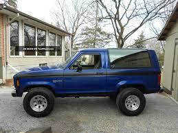 blue bronco car 1986 ford bronco ii information and photos momentcar