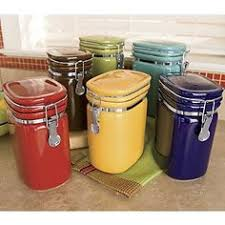 colored kitchen canisters imax worldwide 44212 3 dog food storage canister with dog images