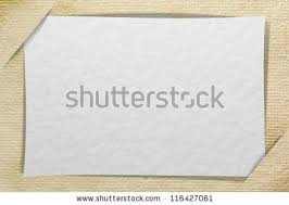 photo insert cards blank paper cards inserted into another stock photo 116427061