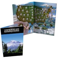 State Series Quarters Collector Map by Coin Collecting Supplies And Storage The Patriotic Mint