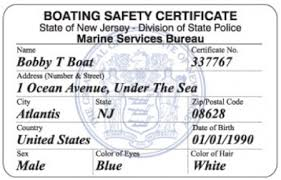 nj sora class boating safety certificate frequently asked questions new