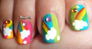 nail art rainbow nail art designs