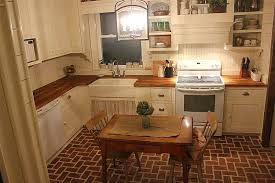 Brick Floor Kitchen by Kitchen Contest Vote For Your Favorite Small Kitchen Hooked On