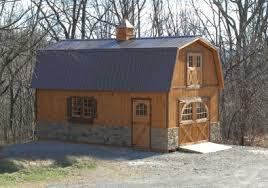 Two Barns House Two Story Barns