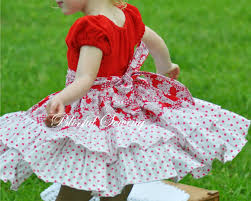 sewing patterns for girls dresses and skirts ruffled peasant