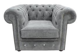 Low Armchairs Buy Keira Pewter Chesterfield Armchair Designersofas4u