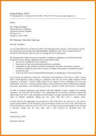 cover letter for hospital position cover letter for a pharmacy technician resume cv cover letter