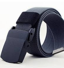 belt buckle allergy men plastic buckle allergy canvas belt extended fatty elastic