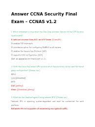 answer ccna security final exam v1 2 virtual private network