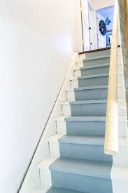 Stairs To Basement Ideas - how to paint basement stairs the weathered fox