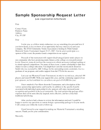How To Write A Thank You Business Letter by Sample Sponsorship Lettersponsorship Letter Template 06jpg