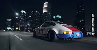 porsche 911 los angeles midnight drive magnus walker makes los angeles beautiful with a