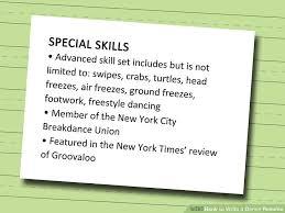 Dancer Resume Template Dance Resume Template Lofty Design Ideas Dance Resume Template 11