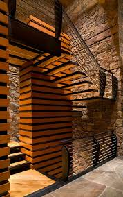 las vegas interior stone walls living room contemporary with log