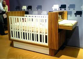 Convertible Cribs With Attached Changing Table Image Of Baby Crib With Attached Changing Table Pad Cover