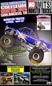 monster truck show roanoke va monsters monthly no limits monster truck tour san angelo tx