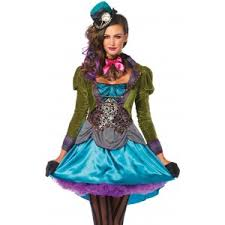 Deluxe Womens Halloween Costumes Mad Hatter Deluxe Womens Halloween Costume Price 68 00