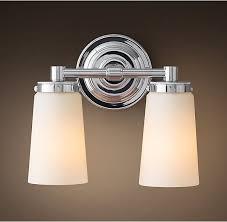 Restoration Hardware Lighting Sconces 34 Best Wellesley 3rd Floor Bath Lighting Images On Pinterest